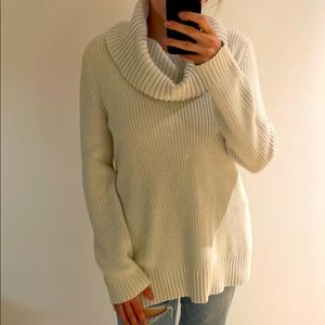 H&M Knitted Oversized Turtleneck Sweater